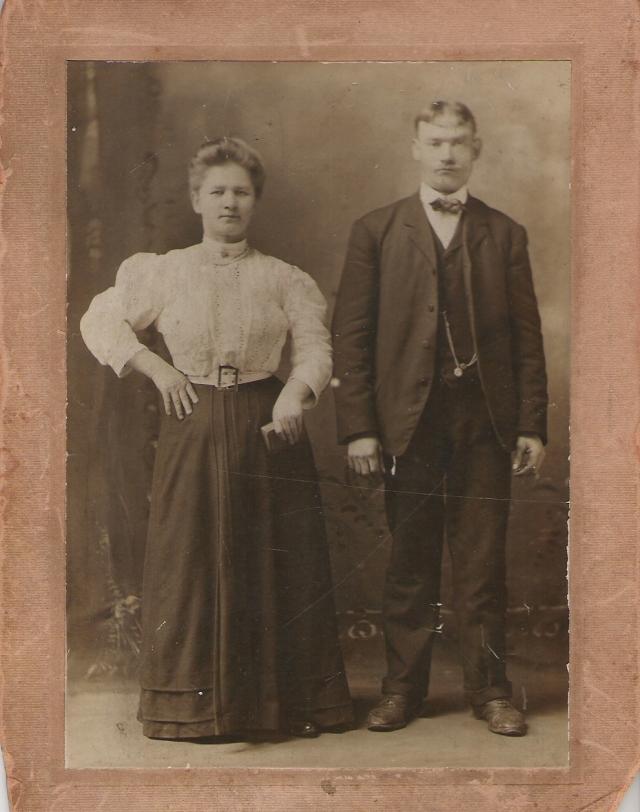 Joseph and Sophia Szczerba Mirota, Copyright 20124, Genealogy Sisters