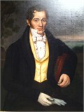 Portrait of Henry Fountain son of Amy Fettie and Vincent Fountain