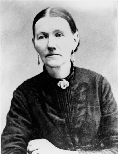 Lisabeth Maria Mansdotter Satelin. Mother of Albertina Satelin. Copyright 2013 Genealogy Sisters