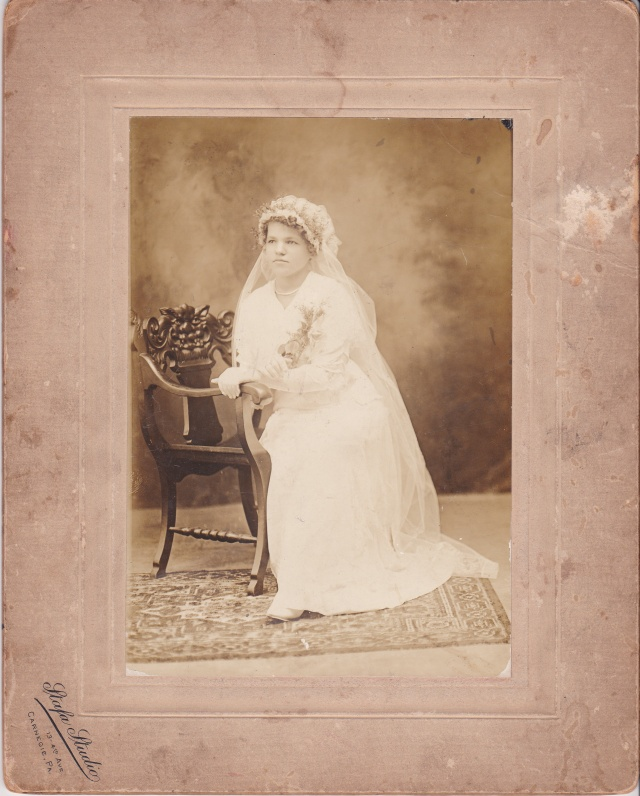 Photograph of Sophie Satkiewicz Rosenek taken by the Stafa Studio.