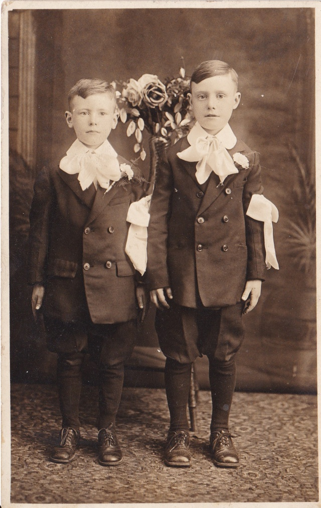 Brothers - James and Bernard Doran - circa 1926.