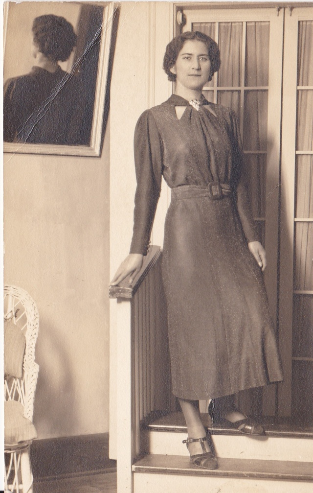 Mary Mirota Doran - taken in the late 1930s or early 1940s when she was a secretary.