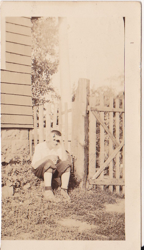 Paul Rozenek, photo taken 1934, Whitehouse, NJ.