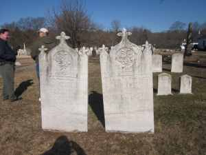 William G. Fountain and Catherine Butler Fountain, Moravian Cemetery. 2013 Copyright GenealogySisters.com