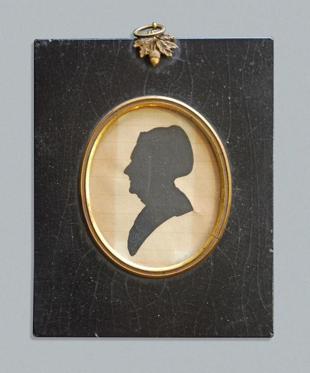 Silhouette of Sarah Van Pelt Smith (1810-1895). Copyright 2013 GenealogySisters.com
