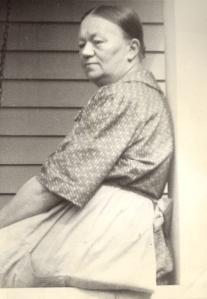 Albertina Satelin Olson circa 1929. Photo courtesy of C. Cunningham.