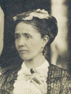 Possibly Caroline Augusta (Hosmer) Heal. Circa 1870s.