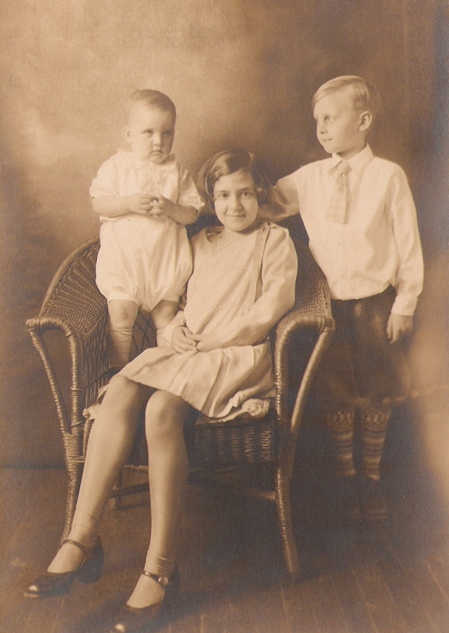 Stewart Children 1930. of Kingston, NJ
