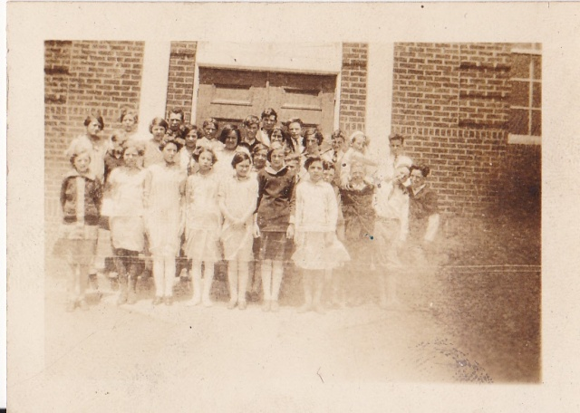 Class of 1926 of the White House Grammar School
