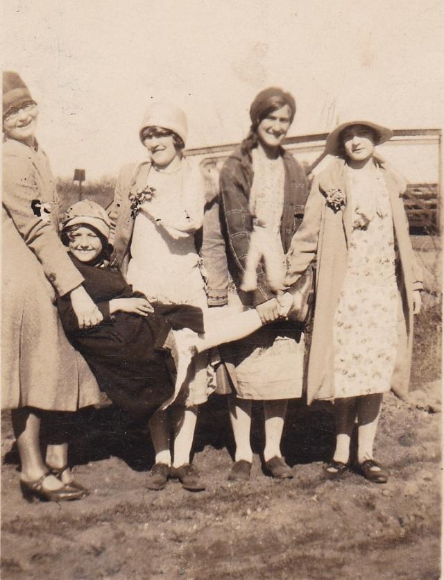 "1928 - ""Anna, Gladys, Genevieve, Mary and Stephanie."" - Whitehouse , NJ"