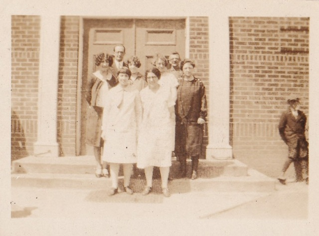 Teachers of the White House Grammar School, 1926