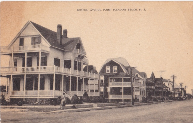 Boston Avenue, Point Pleasant Beach, N.J. Samuel Strause Co., Brooklyn, New York