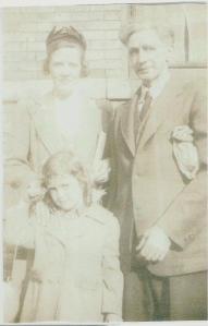 Bill and Rosina Evans Doran, and daughter