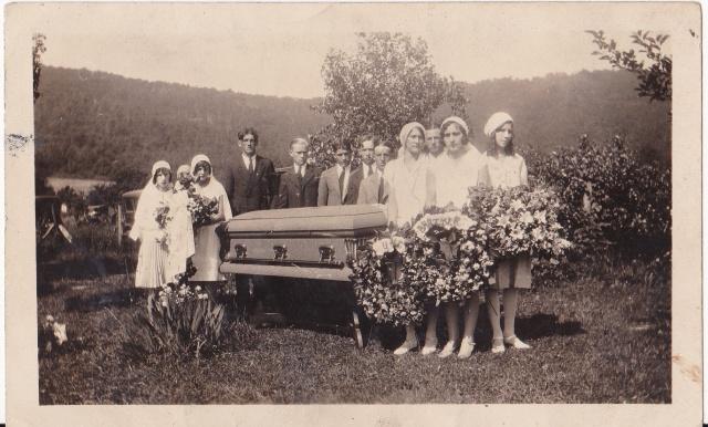 """June 23, 1930 - Walter Emulet's funeral"""