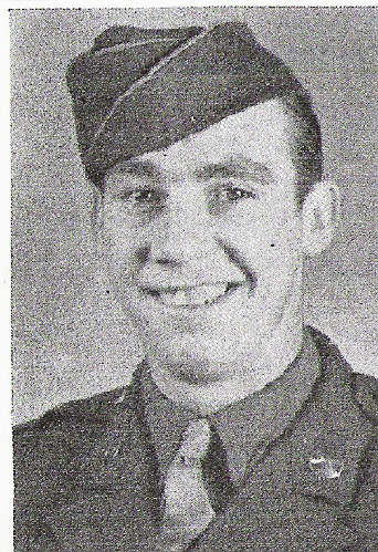 Private First Class John J. Doran, 116th Infantry Regiment, 29th Division, Co. K. John landed on D-day, was wonded on June 9, and returned to duty to engage in the assaults upon St. Lo and Brest. He was killed in Brest, August 30, 1944.