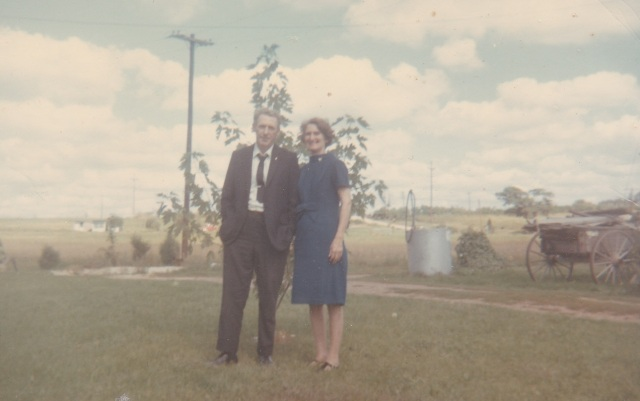Jim and MaryDoran, 1967. Photograph belonging to Genealogy Sisters.