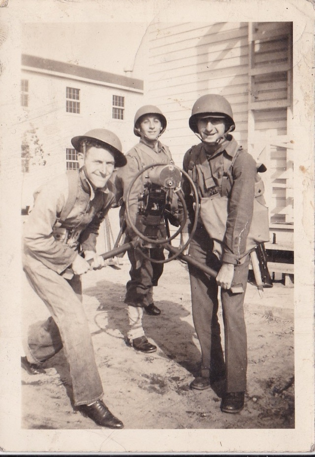 James Doran and friends. Taken at Camp Gordon, Georgia, 1942. Copyright Genealogy Sisters.