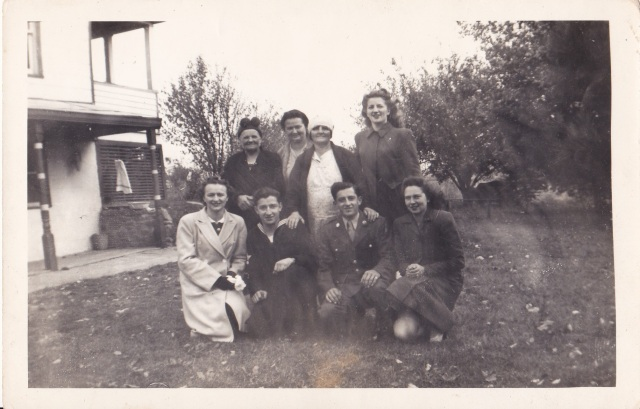Eva Stacks and Family - 17 October 1943, Sunday