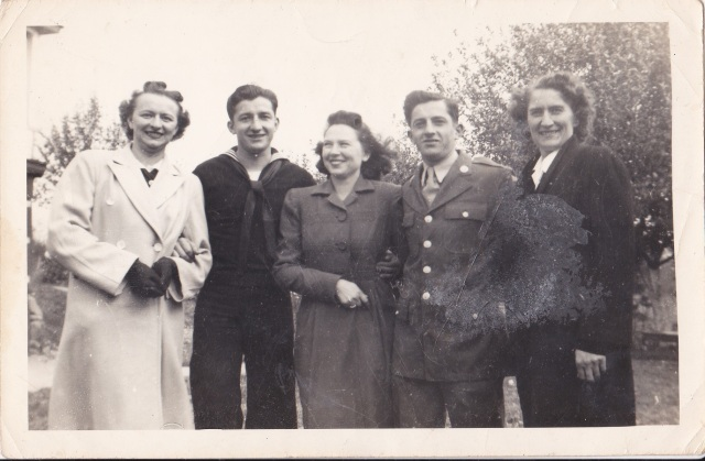 Photograph taken 17 October 1943, Copyright Genealogy Sisters 2014.