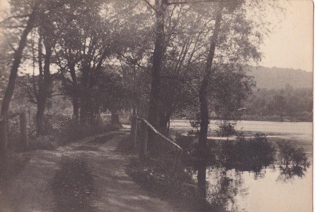 Burnbrae Pond, Sparta, New Jersey - 1934