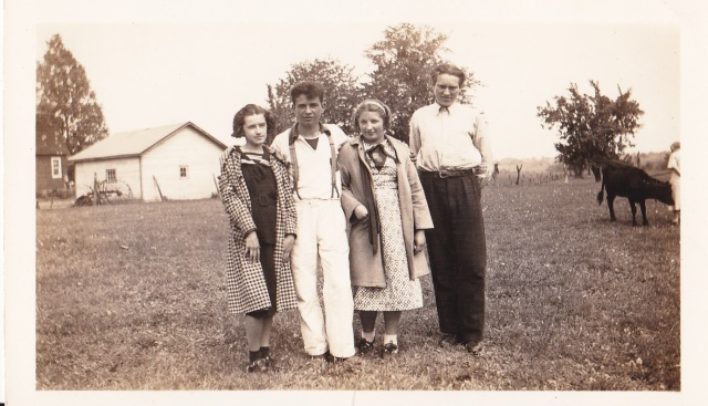 1937 - Helen Dycha - Walter Wroblewski - Eddie Vladich - Mary Szurick
