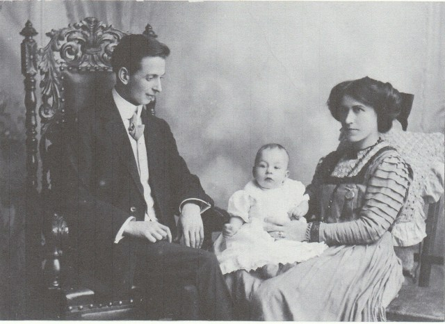 Arthur Patrick Doran Family, taken in Belfast, Ireland, circa 1911. Photograph courtesy of James Doran.