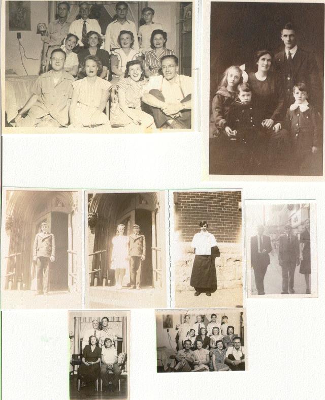 Rafferty family montage - courtesy of Robin Rafferty Benesh
