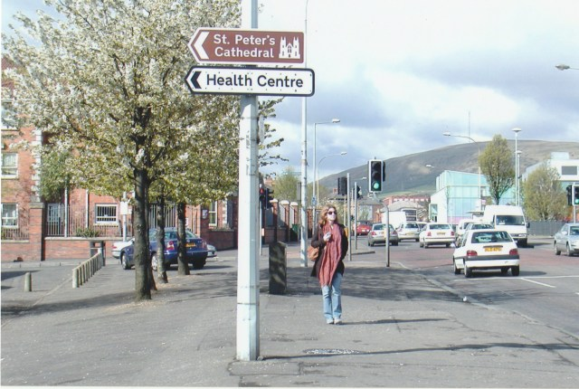 Visiting the Old Pound Loney Neighborhood of Belfast - 2008
