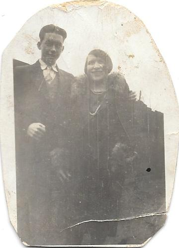 Thought to be Arthur and Sarah Doran. Photograph from Phil Doig.