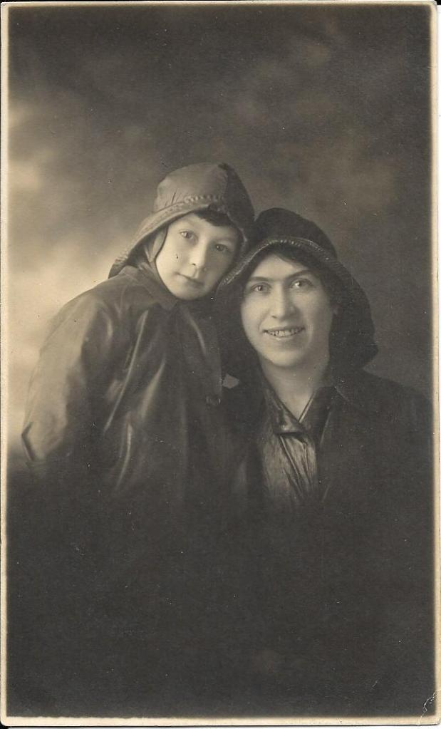 Sarah and Arthur Doran. Photograph from Phil Doig.