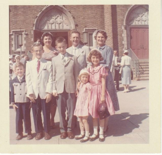 Mirota and Doran families - June 1960