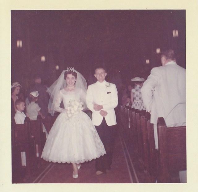 Mr. & Mrs. Victor Mirota, Dunellen, New Jersey, June 1960