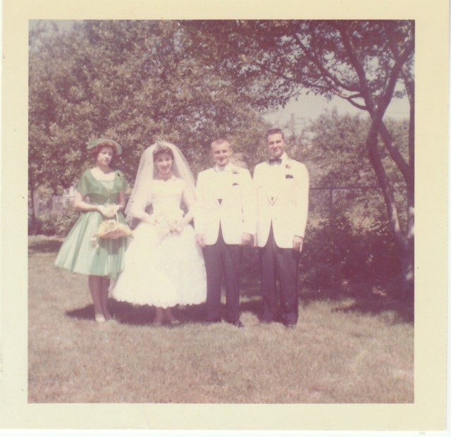 Mirota Wedding Party - Dunellen, New Jersey - 1960
