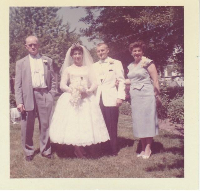 Stephen, Bettyann, Victor, and Jean Mirota - June 1960