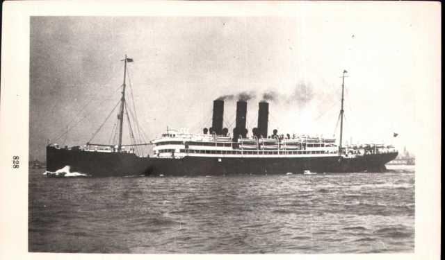 S. S. Columbia - Anchor Line Ship