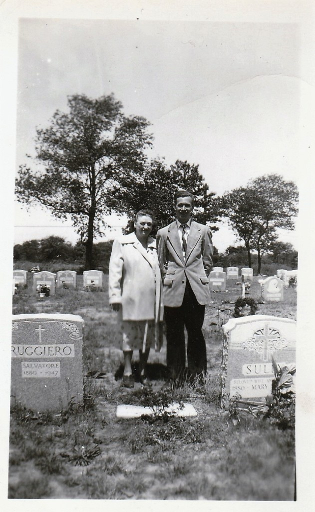 Mary Mahoney Doran with her son, Billy. Photograph copyright Genealogy Sisters 2016.