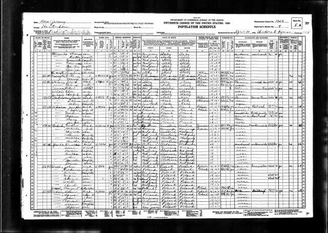 Source: ancestry.com; Year: 1930; Census Place: Readington, Hunterdon, New Jersey; Roll: 1361; Page: 8A; Enumeration District: 0030; Image: 620.0; FHL microfilm: 2341096