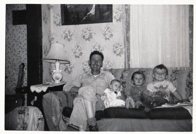James Doran and children - November 1953