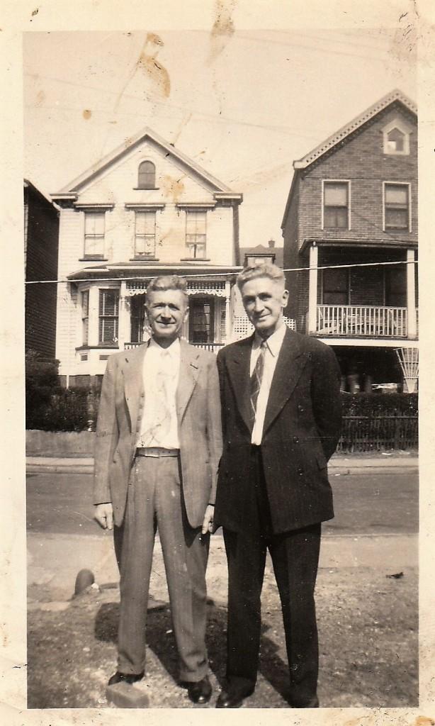 Brothers Bernard and William Doran