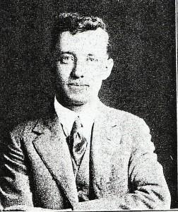 John Aloysius Mahoney - 1922 - photo curtesy of C. Mahoney.